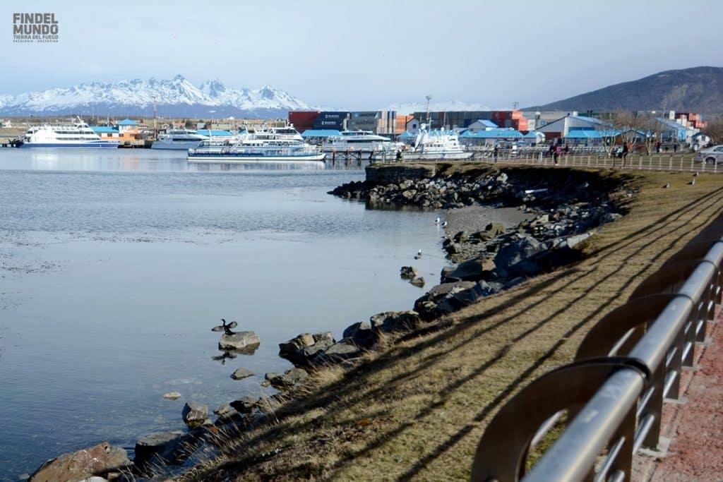 Puerto de Ushuaia, Tierra del Fuego