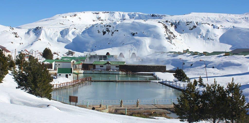 Termas de Copahue en Invierno - foto: neuqueninforma.gob.ar