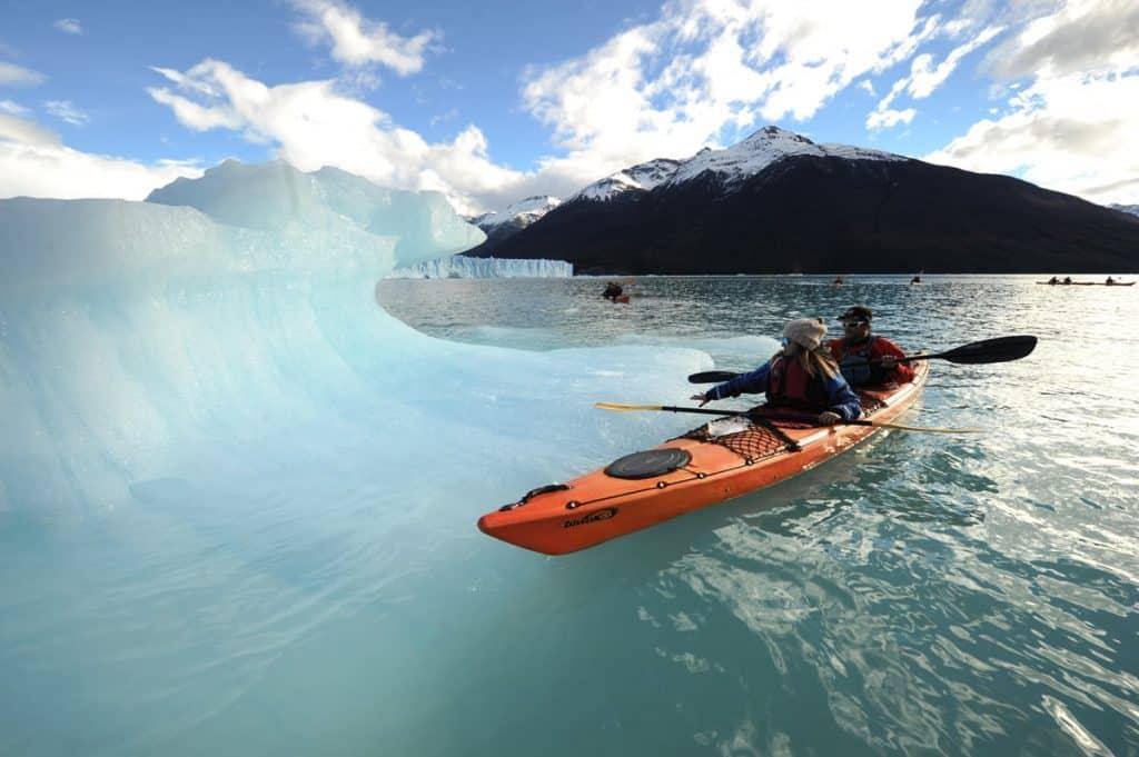 Kayak en Glaciar Perito Moreno - Mil Outdoors