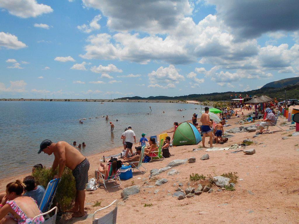 Poca Playa en Dique Piscu Yaco - foto: Nanunadia para tripadvisor