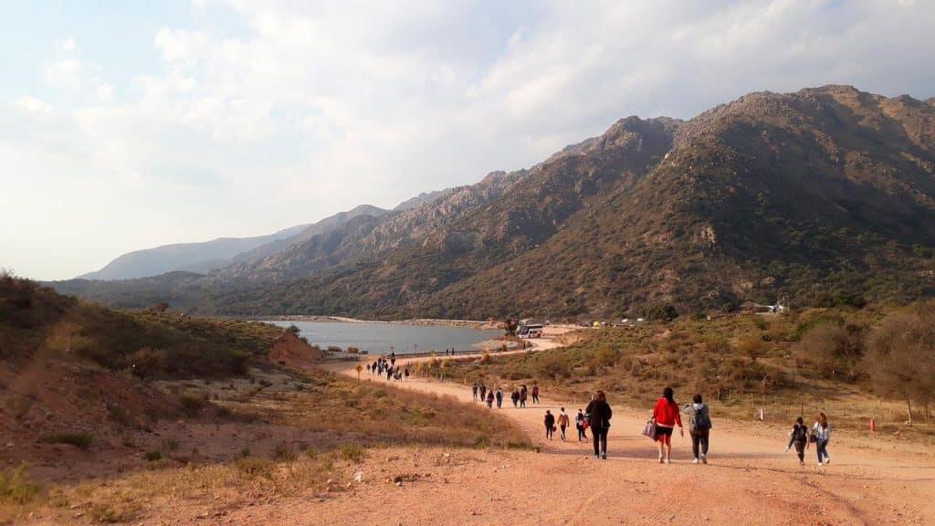 Poca Playa en Dique Piscu Yaco - foto: Mariela L para tripadvisor