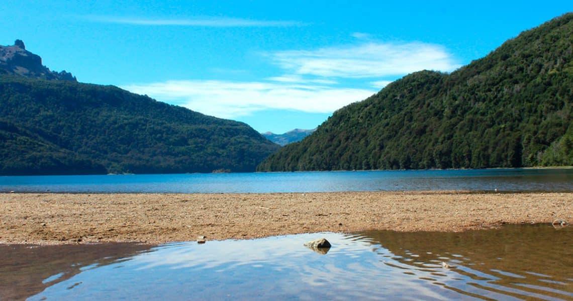 Lago Falkner, Ruta de los Siete Lagos, San Martín de los Andes