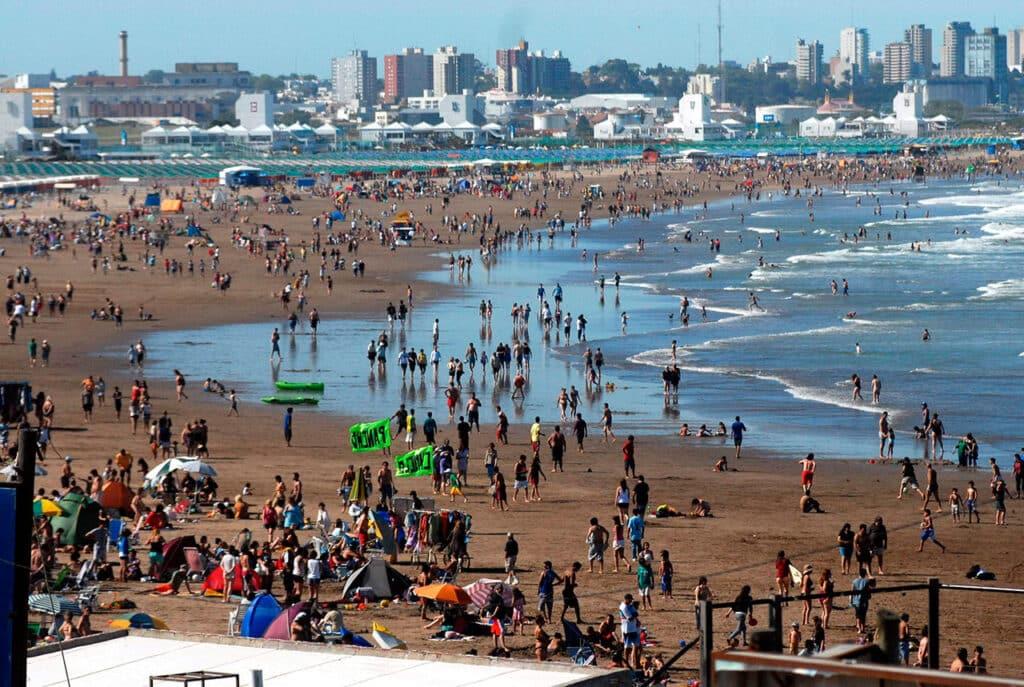 Playa de Punta Mogotes, Mar del Plata
