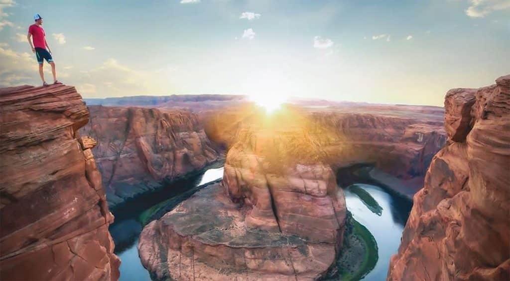 Atardecer en Arizona - @davidmrule