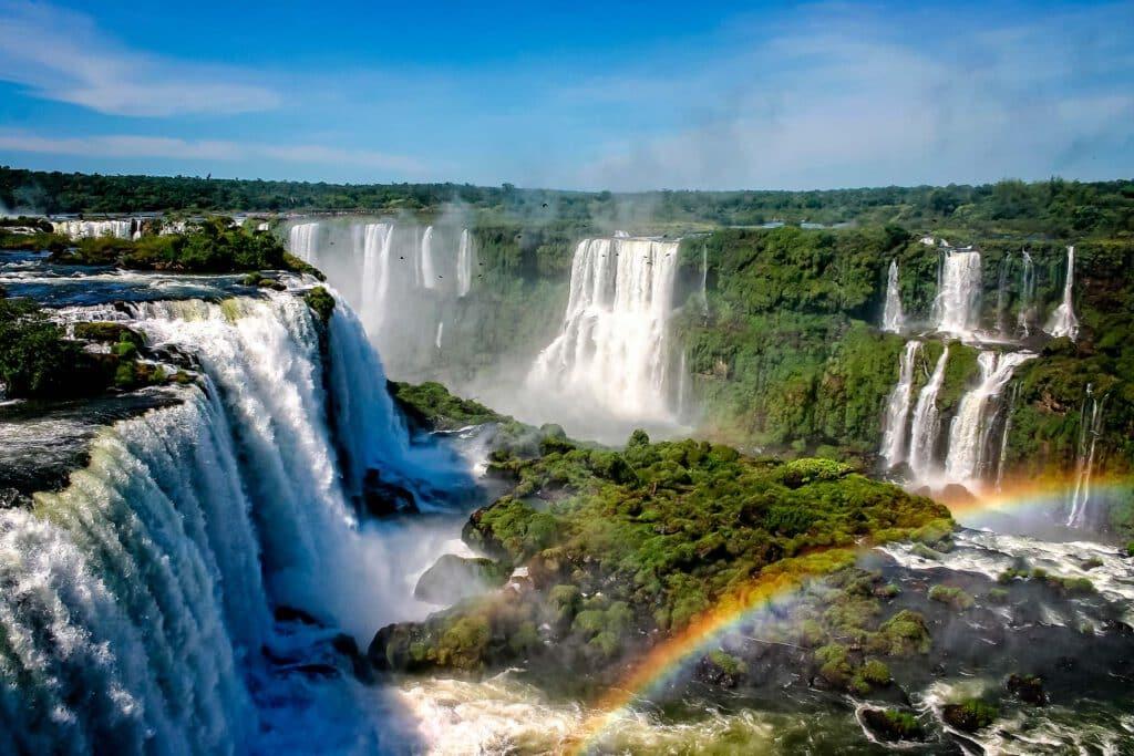 Vista Panorámica de las Cataratas del Iguazú