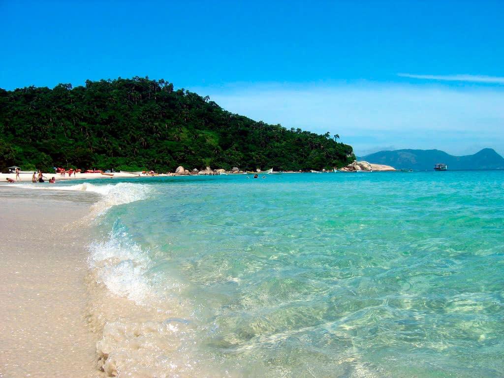 La isla de Santa Catarina cuenta con las mejores playas de Brasil