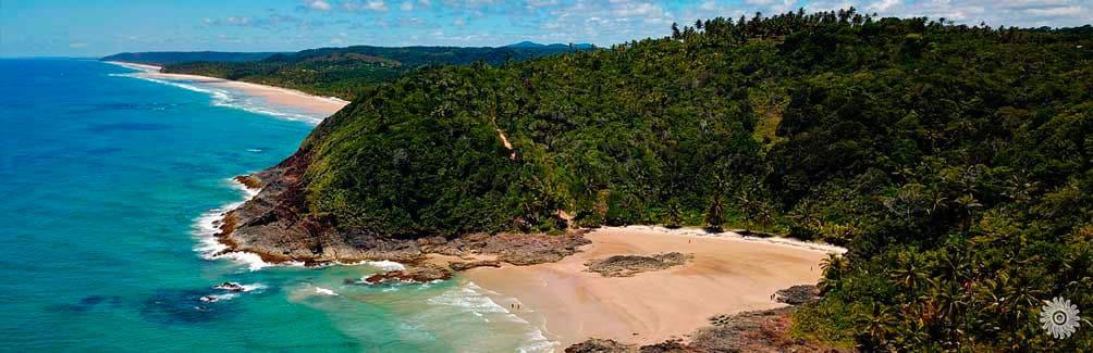 Itacarezinho, al sur de Bahía una de las mejores playas de Brasil
