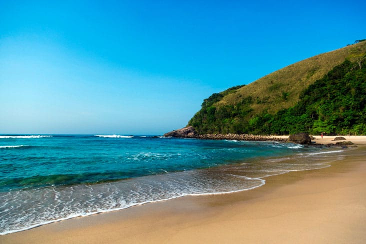 Playa de Maresias, Ilhabela otra de las mejores playas de Brasil