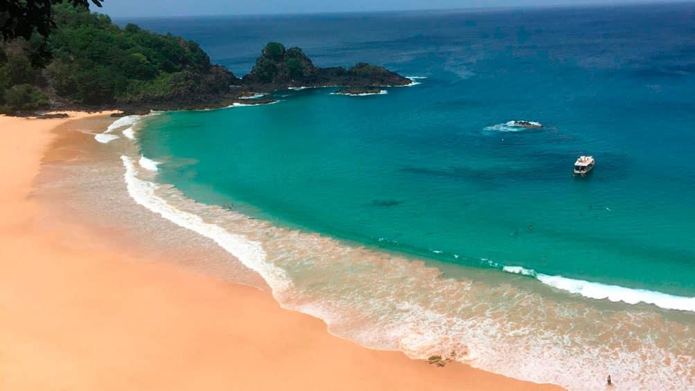 Praia do Sancho, Fernando do Noronha, mejores playas de Brasil