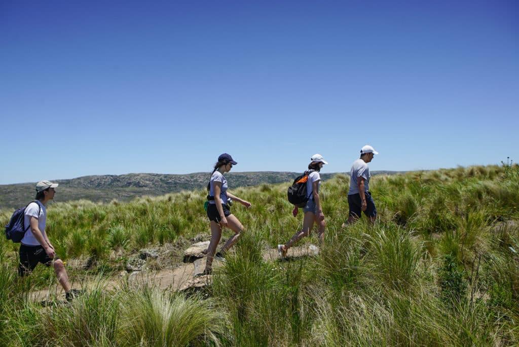 Trekking en Parque Nacional Quebrada del Condorito