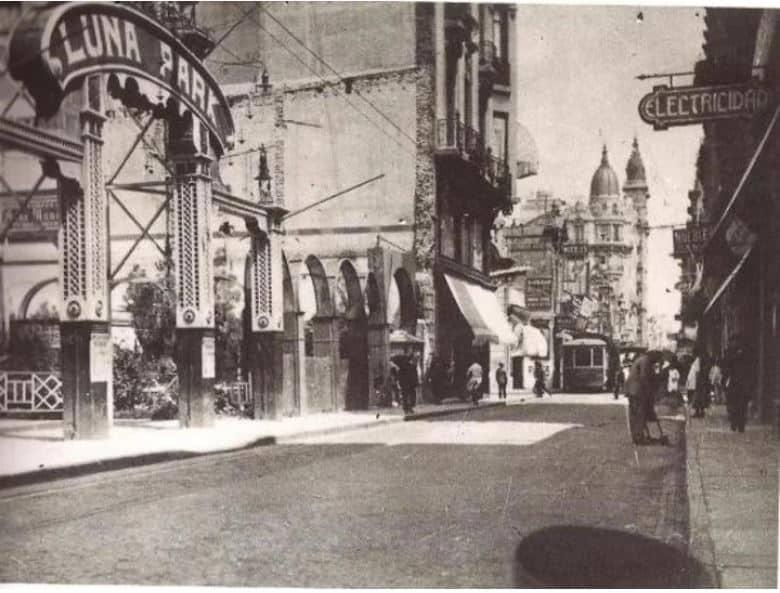 Así se veía el Luna Park en sus comienzos. Foto: Archivo histórico Luna Park