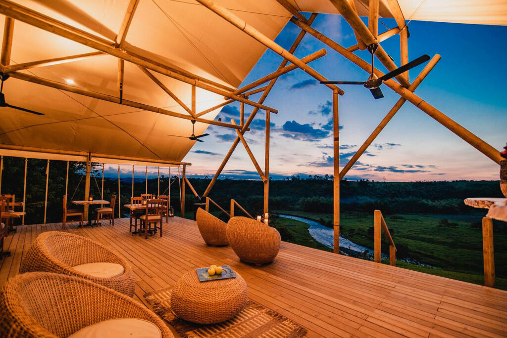 Glamping, mezcla de camping y glamour