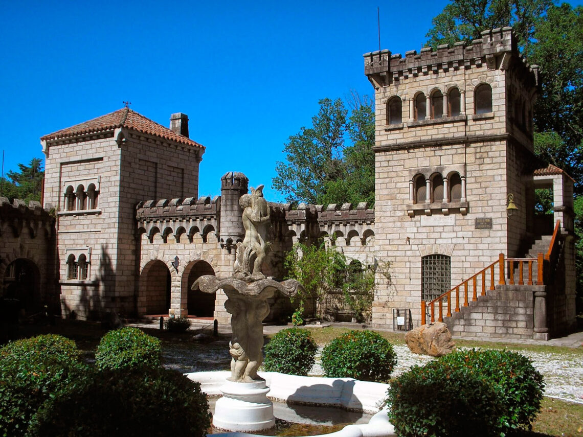 Castillo de Wilkins, Castillo San Alberto, Tanti, Córdoba