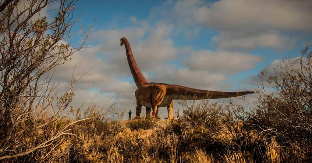 El Dinosaurio mas grande del mundo, Trelew - patagotitan