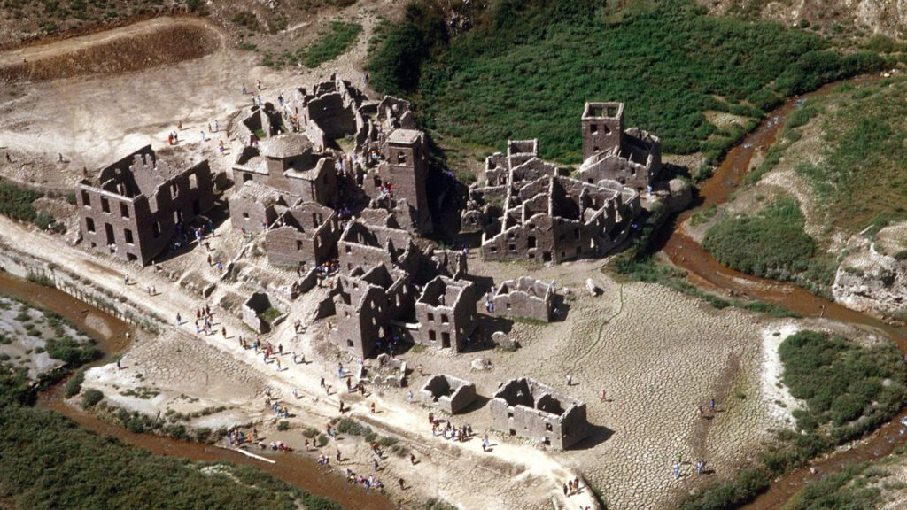 Fabbriche di Careggine, pueblo fantasma - foto - skynews