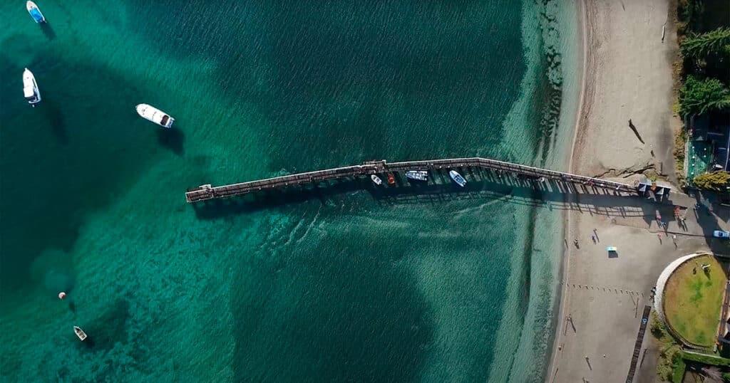 Bahía Brava, Villa la Angostura, Neuquén - Drone
