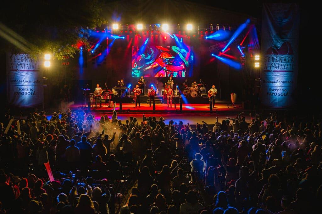 Serenata a Cafayate es el festival folklórico más importante de la Provincia de Salta
