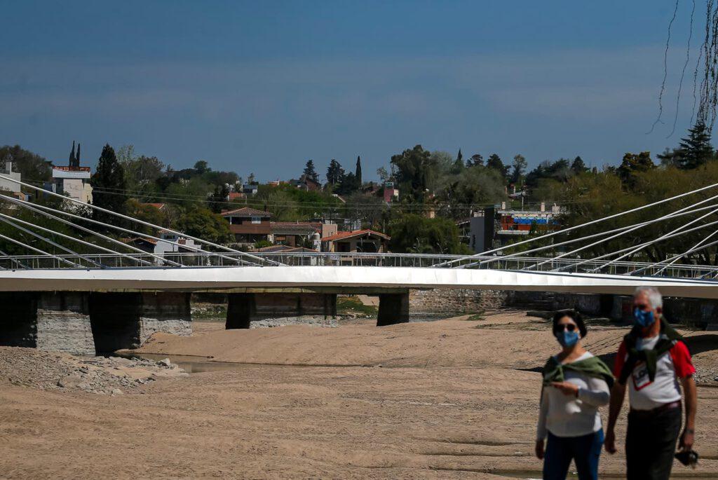 La provincia atraviesa una de las peores sequías de los últimos 65 años Fuente: LA NACION - Crédito: Diego Lima