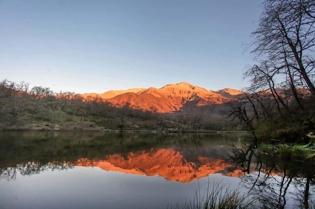 Amanecer en la Laguna del Tesoro - Parque Nacional Aconquija