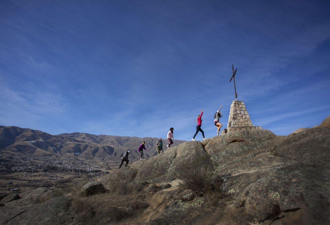 senderismo en Tafí del Valle