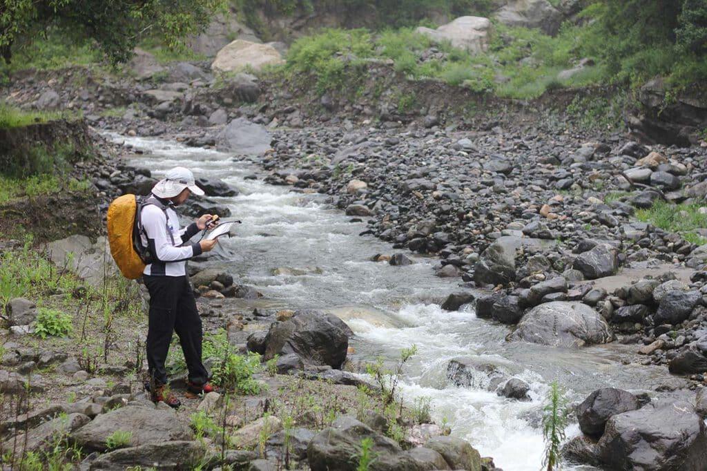 Río Viejo en la Quebrada del Portugués - Parque Nacional Aconquija