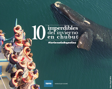 Diez imperdibles del invierno en Chubut
