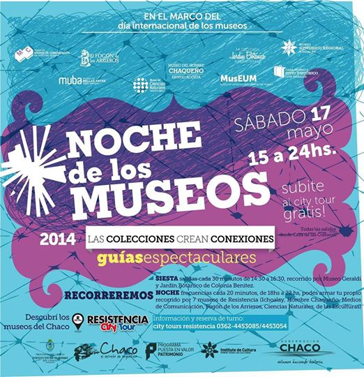 El festejo del dia internacional de los museos 2014 en Chaco