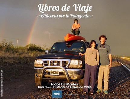 Libros de viaje, dos años viajando con Tripin Argentina