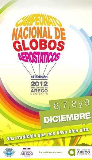 Campeonato de globos aerostaticos en Areco