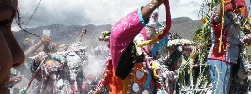 Toda la alegria y el color del Carnaval de Jujuy