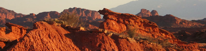 Los Colorados, sitio arqueologico e ineludible en tu visita a La Rioja