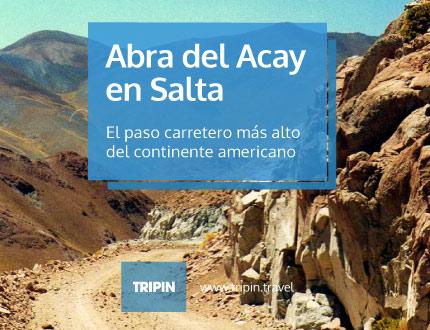 Abra del Acay en Salta, el paso carretero más alto del continente americano