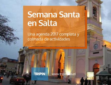 La agenda de semana Santa en Salta