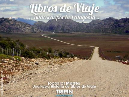 Libros de viaje en Aldea Las Pampas, un pueblo en medio de la cordillera.