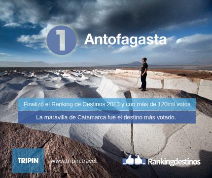 Antofagasta del Sierra en la cima del Ranking de Destinos 2013 entre más de 120 mil votos!
