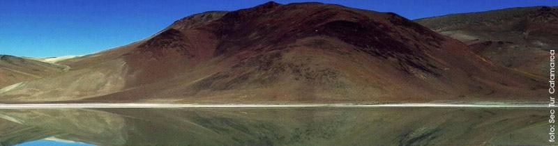 La Laguna Diamante en el Volcán Galán, otra de las maravillas invaluables de Antofagasta