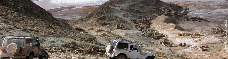 Antiguas minas de oro Incahuasi en Antofagasta de la Sierra, Catamarca