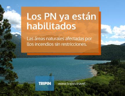 Las areas naturales de Chubut, afectadas por los incendios, habitlitadas al turismo sin restricciones