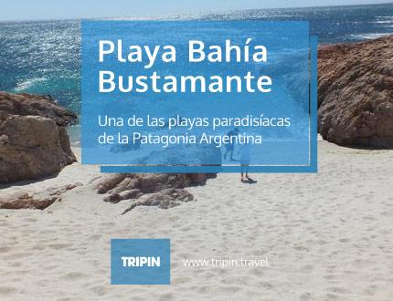 Playa Bahía Bustamante en Chubut, un lugar de ensueño