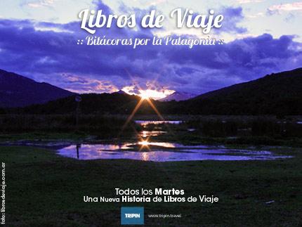 Libros de Viaje en Bahia Lapataia, Tierra del Fuego en la Patagonia Argentina