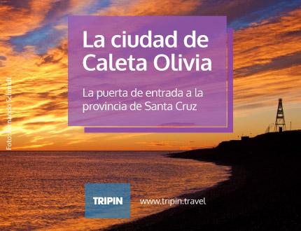Caleta Olivia, la puerta de entrada a la provincia de Santa Cruz