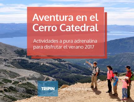 Cerro Catedral Alta Patagonia, verano 2017