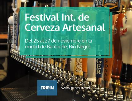 Festival Internacional de Cerveza Artesanal en Bariloche