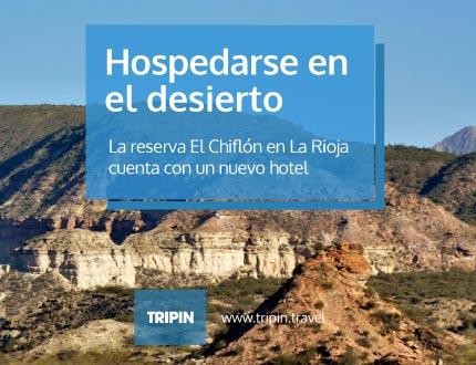 La reserva El Chiflón en La Rioja, cuenta con un nuevo hotel