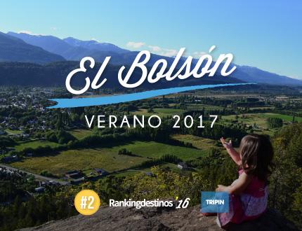El Bolsón, el segundo destino más votado en el Ranking Destinos 2016