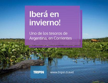 Iberá, Corrientes, en invierno