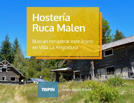 Buscan recuperar la Hostería Ruca Malen, Villa La Angostura