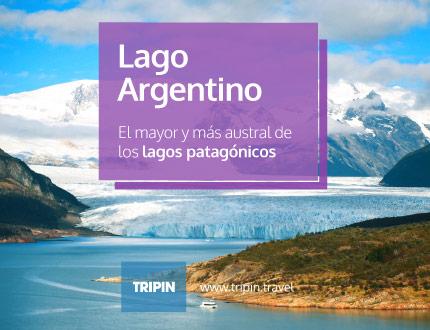 Lago Argentino, imponente por naturaleza