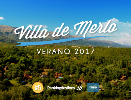 Villa de Merlo, verano 2017