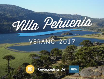 Villa Pehuenia en Verano